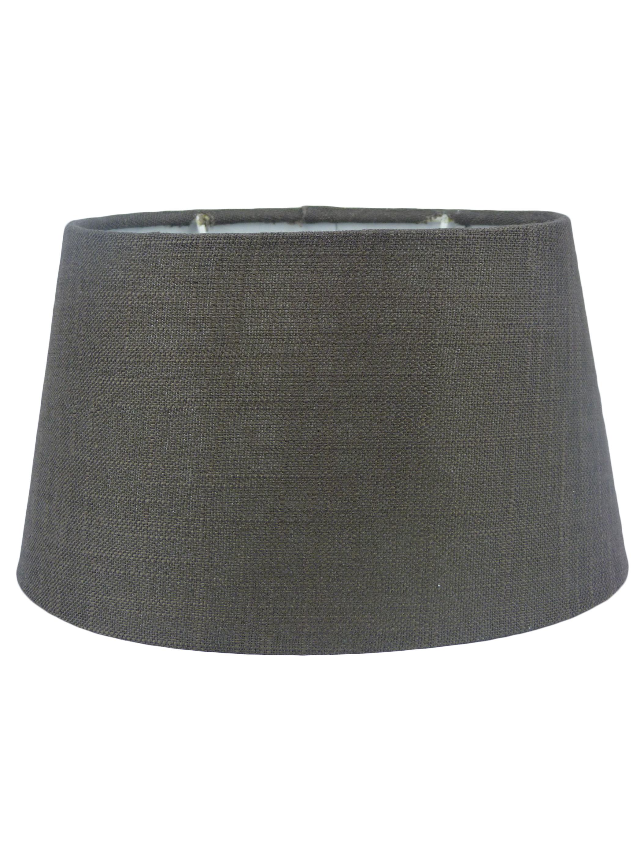 lampenschirm stoff textil leinen shabby chic landhaus. Black Bedroom Furniture Sets. Home Design Ideas