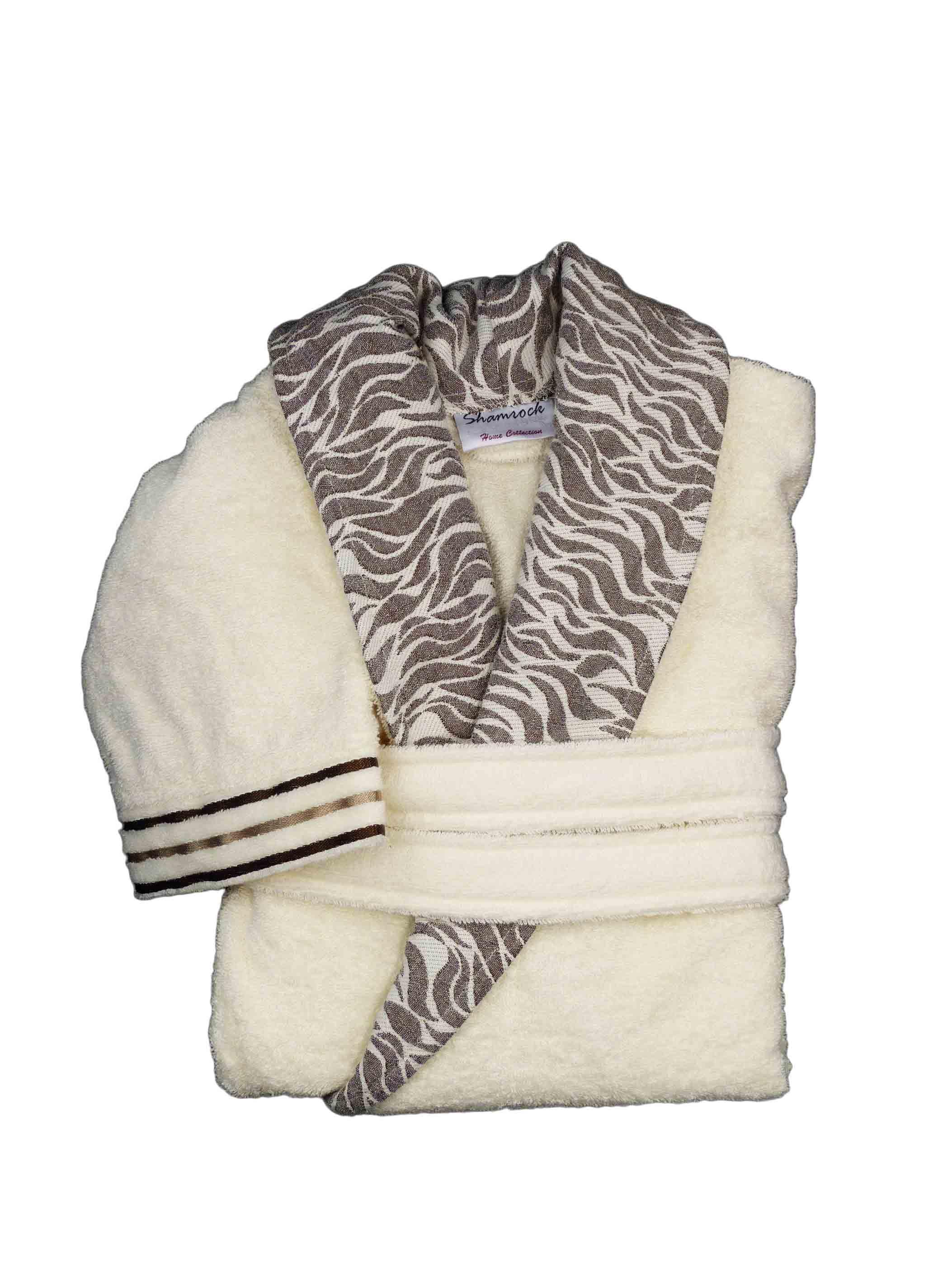 luxus bademantel damen herren 100 baumwolle saugf hig morgenmantel saunamantel ebay. Black Bedroom Furniture Sets. Home Design Ideas