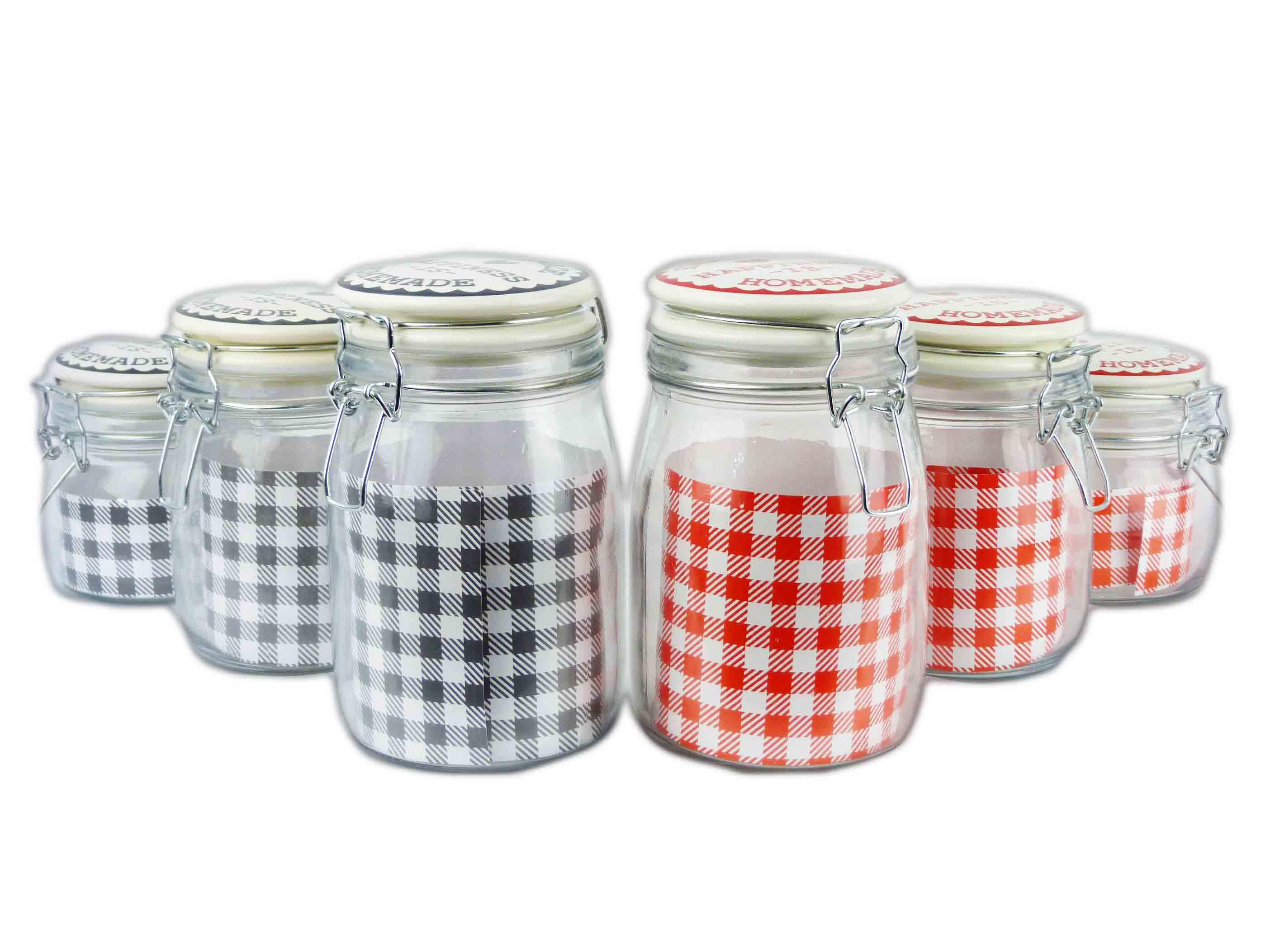 Vorratsbehälter Home Vorratsglas Einmachglas Vorratsgefäß Bonbonglas Shabby Glas